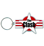 The Clash Metal Keychain - Star & Stripes