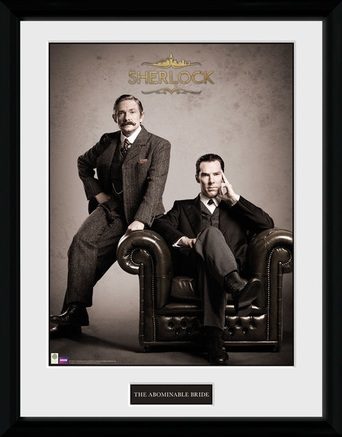 Sherlock Victorian Framed Collector Print