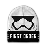 STAR WARS VII The Force Awakens First Order Stormtrooper Mask Beanie, One Size, White/Black