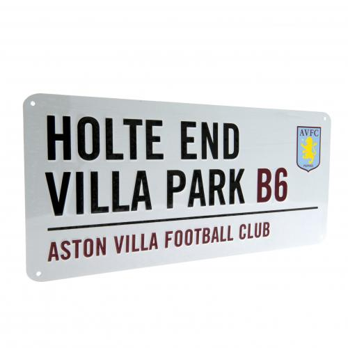 Aston Villa F.C. Street Sign HE