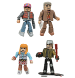 Back to the Future Minimates Action Figures 5 cm Series 1 Box Set
