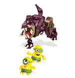 Minions Mega Bloks Construction Set Dino Ride