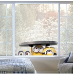 Minions Wall Sticker Windows Manhole