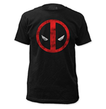 DEADPOOL Men's Black Logo Tee Shirt