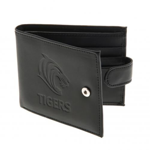 Leicester Tigers F.C. Embossed Crest  Leather Wallet 805