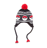 POKEMON Unisex Pokeball Laplander Earflap Beanie, One Size, Multi-Colour