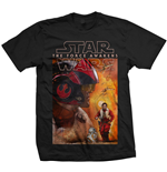 Star Wars Episode VII T-Shirt Dameron Composition