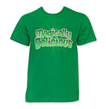 ST. PATRICK'S DAY Men's Green Magically Delicous Tee Shirt