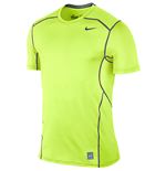 Nike Pro Hypercool 2.0 Fitted Short Sleeve Top (Volt)