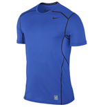 Nike Pro Hypercool 2.0 Fitted Short Sleeve Top (Blue)