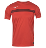 Nike Mens Academy SS Training Top (Red)