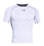 Under Armourvent Heatgear Armourvent Compression SS Tee (White)