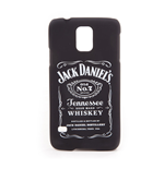 JACK DANIEL'S Unisex Old No.7 Brand Logo Samsung S5 Phone Cover, One Size, Black