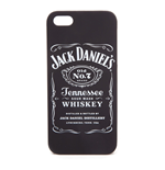 JACK DANIEL'S Unisex Old No.7 Brand Logo iPhone 5 Phone Cover, One Size, Black