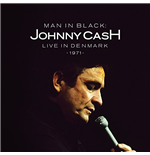 "Vynil Johnny Cash - Man In Black Live In Demark 1971 (2 12"")"
