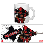 Marvel Comics Mug Deadpool Slashing