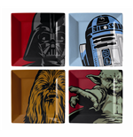 Star Wars Coaster Character Graphics 4-Pack