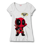 Deadpool Ladies T-Shirt Boop Bop Beep