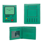 ADVENTURE TIME Unisex Beemo BMO Video Games Console Bi-Fold Wallet, One Size, Green
