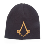 ASSASSIN'S CREED Syndicate Unisex Bronze Brotherhood Crest Cuffless Beanie, One Size, Black