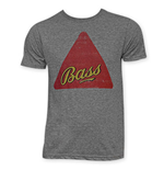 Bass Beer Logo Grey Tee Shirt
