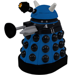 Doctor Who Vinyl Figure Titans Strategist Dalek 16 cm