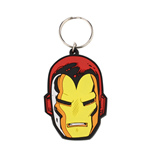 Iron Man Keychain - Iron Man Face