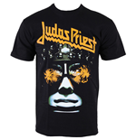 Judas Priest Men's Puff Print Tee: Hell-bent