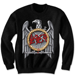 Slayer Men's Sweatshirt: Silver Eagle