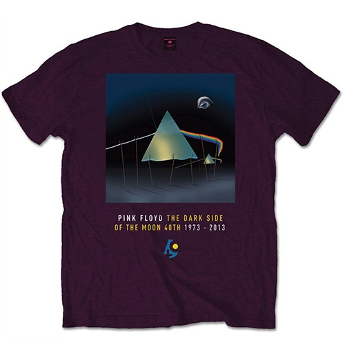 Pink Floyd Men's Tee: DSOTM 40th Dail Sleep