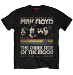 Pink Floyd Men's Tee: Vintage Stripes (Large)