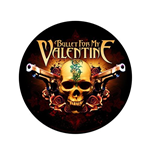 Bullet For My Valentine Back Patch: Two Pistols