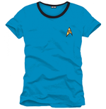 Star Trek  T-shirt Spock Blue Uniform