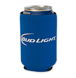 BUD LIGHT Blue Koozie