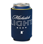 MICHELOB Light Navy Blue Koozie