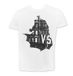 Junk Food BATMAN V SUPERMAN White Tee Shirt