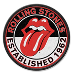 The Rolling Stones Patch - Est. 1962