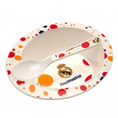 Real Madrid F.C. Feeding Bowl & Spoon