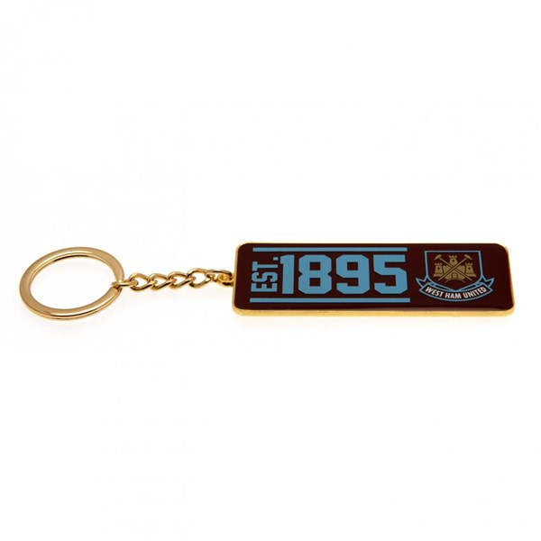 West Ham United F.C. Keyring EST