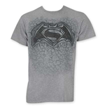 BATMAN V SUPERMAN Stone Logo Tee Shirt