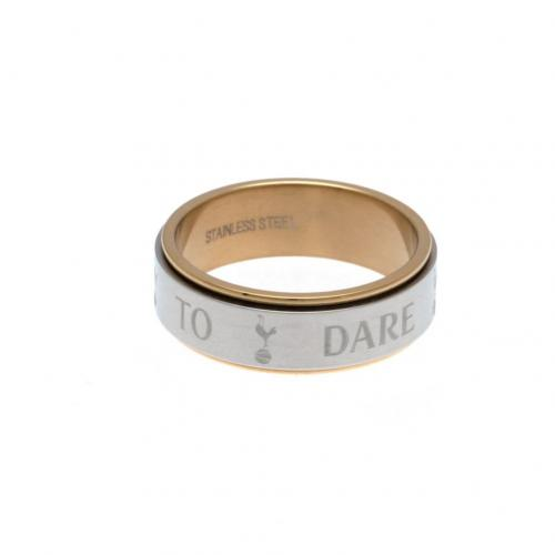 Tottenham Hotspur F.C. Bi Colour Spinner Ring X-Small