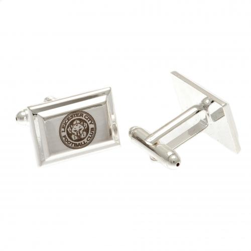 Leicester City F.C. Silver Plated Cufflinks