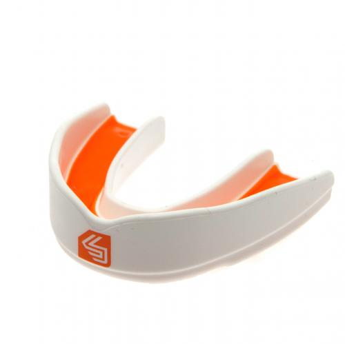 Shock Doctor Ultra Rugby Mouthguard Adult - White / Orange