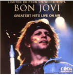 Vynil Bon Jovi - Greatest Hits Live On Air  (White Vinyl)