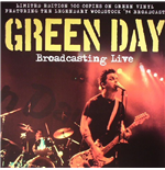 Vynil Green Day - Broadcasting Live Green Vinyl