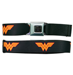 WONDER WOMAN Keep Black Buckle Belt
