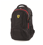 Ferrari Black Backpack