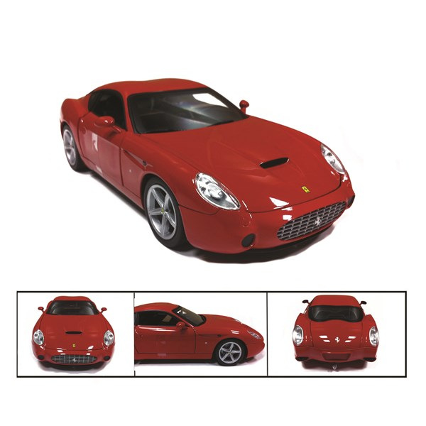 1:18 Ferrari 575 GTZ by Zagato Red Diecast Model