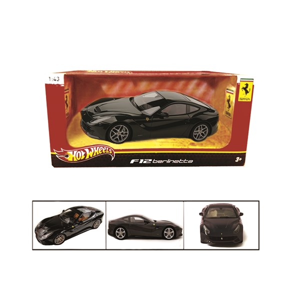 1:43 F12 Berlinetta Black Diecast Model