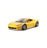 1:24 Ferrari 458 Italia Yellow Diecast Model